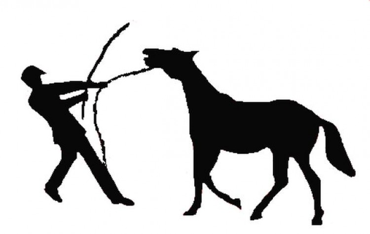 source of image: http://puppy4you.homestead.com/logo-man_horse_black3.gif