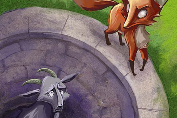 source of image: http://cdn2.momjunction.com/wp-content/uploads/2014/06/The-Fox-And-The-Goat.jpg