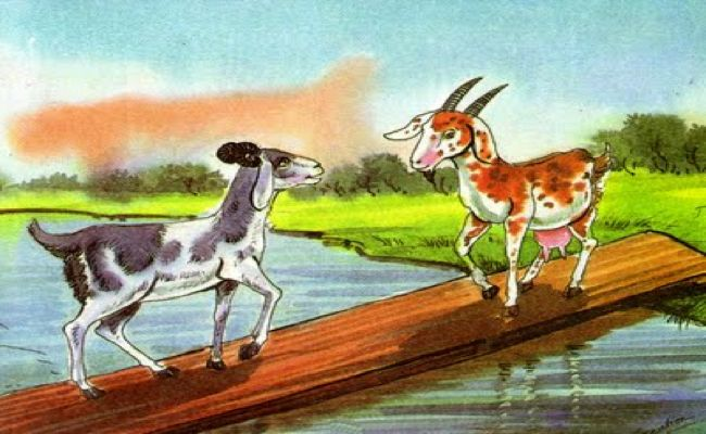 source of image: https://storyplanets.com/media/2014/12/Two-Goats-over-a-Bridge.png
